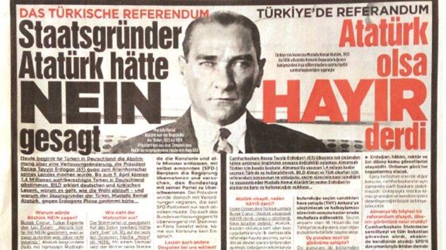 Atatürk'ü alet ettiler