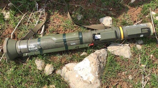 PKK'dan ilk kez İsveç tanksavarı ele geçirildi