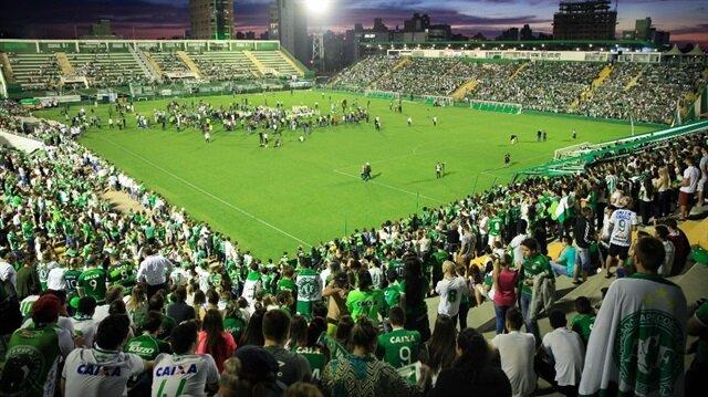 Chapecoense <br/>'Medellin'e gidiyor