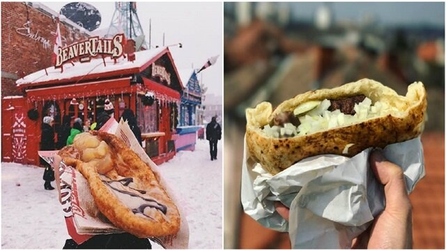 Dünyanın 15 ülkesindeki en iyi fast food yiyecekleri