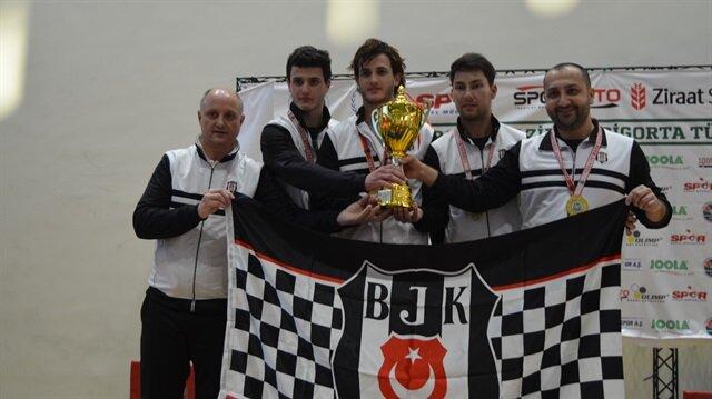 Ziraat Sigorta Erkekler Türkiye Kupası´nı Beşiktaş takımı kazandı.