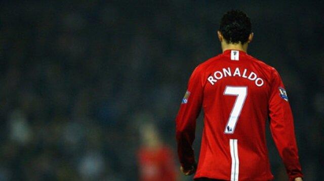 Ronaldo: 7 numaralı formayı giymek istemedim