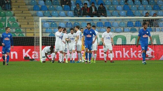 Rizespor-Kasımpaşa: 2-2