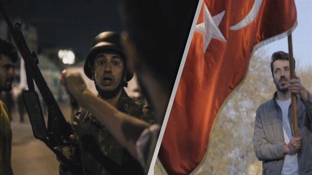 Erdoğan tarihi mitinge kendi seslendirdiği kliple çıktı