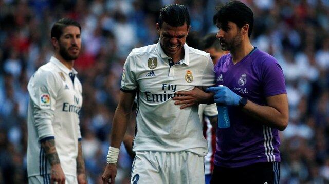 Pepe'nin kaburgasında kırık tespit edildi