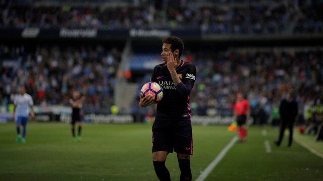 Neymar El Clasico'yu kaçırabilir