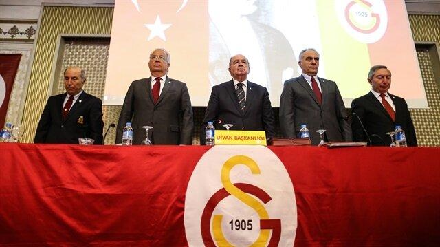 Galatasaray divan kurulunu basına kapattı