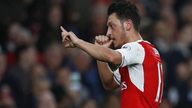 Mesut Özil en iyi 11'ini seçti