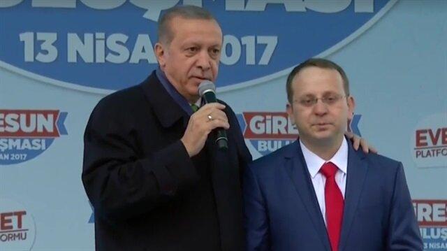 Cumhurbaşkanı Erdoğan ve Gazi Sabri Ünal