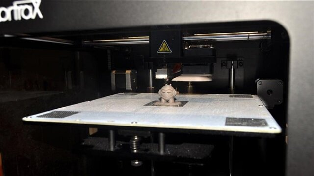 US researchers create 4-D printed objects