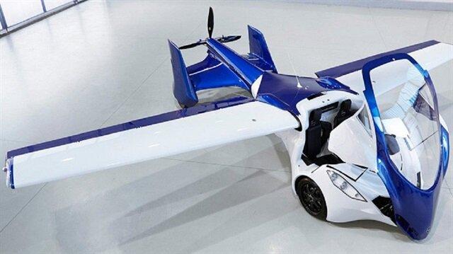 السيارة الطائرة تتاح في الأسواق خلال هذه السنة