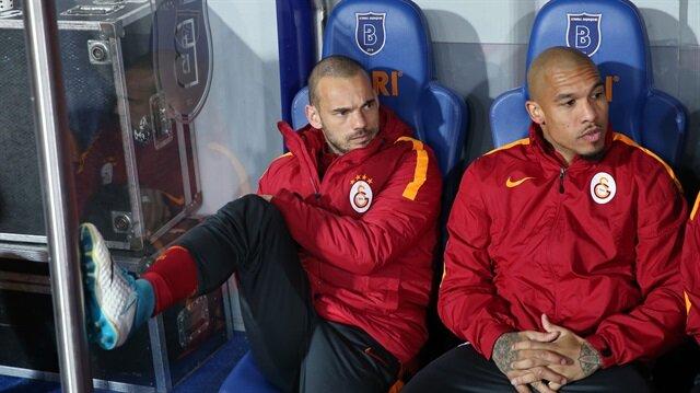 Sneijder'den Tudor'a: Gidiyorum