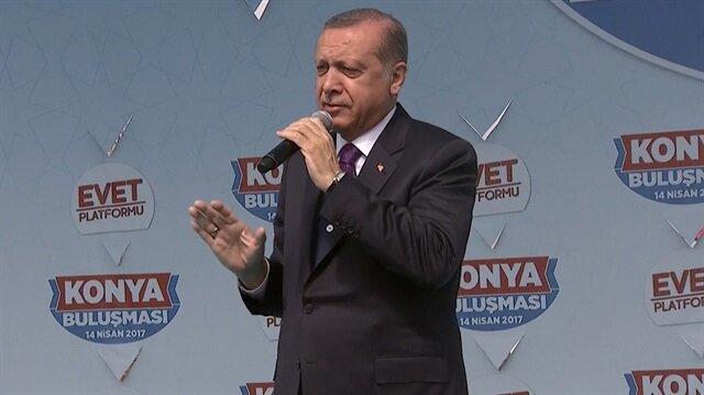 Erdoğan: Eyaletmiş federasyonmuş hiçbiri gündemimizde yoktur, olmayacaktır