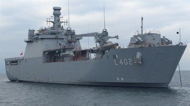 Milli tank çıkarma gemisine tam not
