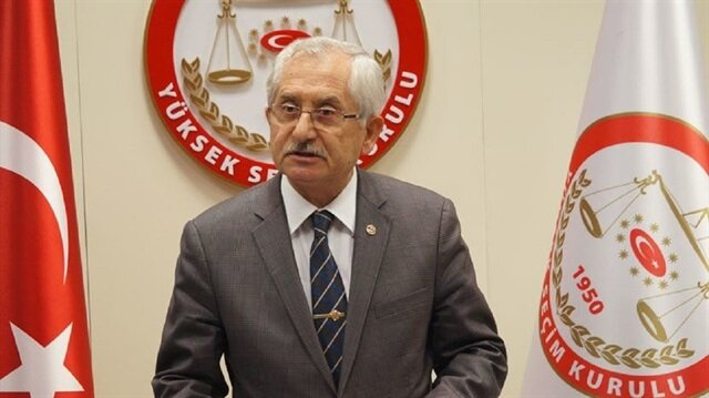 YSK Başkanı'ndan mühür açıklaması