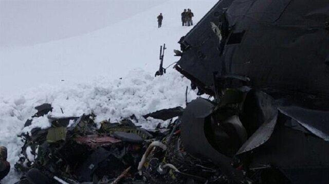 Tunceli'de polis helikopteri düştü: 12 şehidimiz var