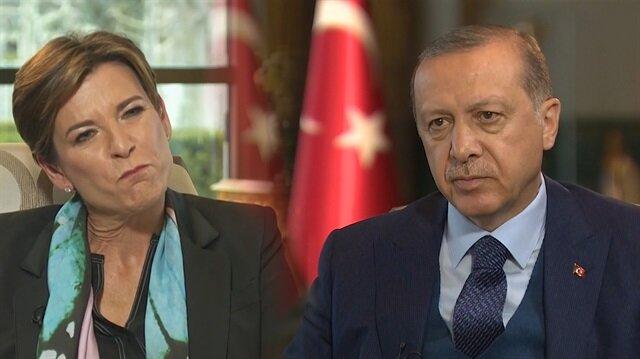 Erdoğan CNN muhabirine tane tane anlattı!