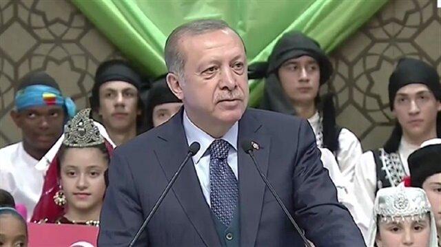 كلمة الرئيس أردوغان خلال الاستعدادات للاحتفال بيوم الطفل