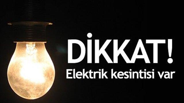 Adana Haber: Adana'nın Karataş, Seyhan, Yüreğir, Çukurova ve Ceyhan ilçelerinde cumartesi günü elektrik kesintisi uygulanacağı bildirildi.