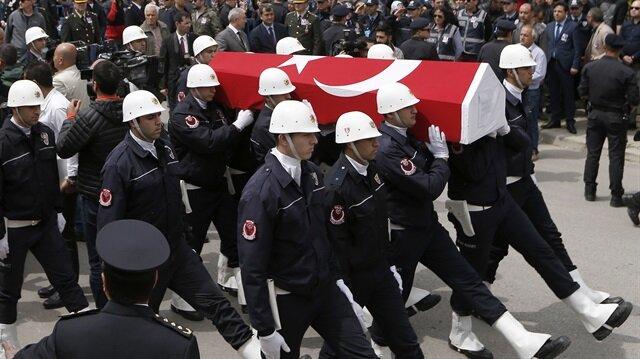 Tunceli'de helikopter kazasında şehit olanlar son yolculuklarına uğurlandı.