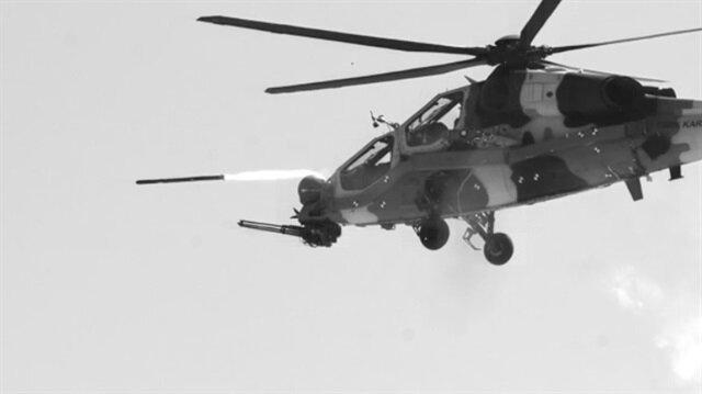 Milli savunma silahlarımız, Bayraktar İHA'sı ve ATAK hekikopteri ilk kez PKK'ya karşı ortak operasyonda birlikte kullanıldı.
