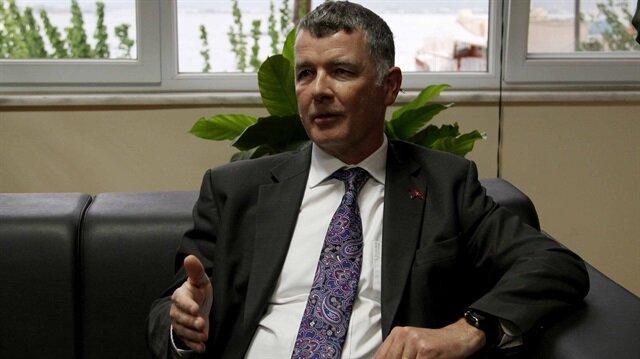 İngiltere'nin Ankara Büyükelçisi Richard Moore