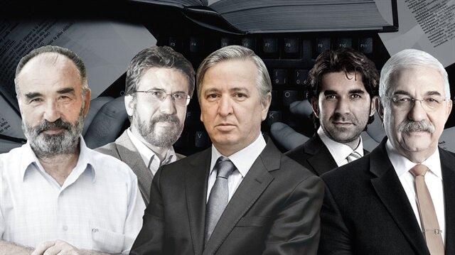 Hayrettin Karaman, Akif Emre, Aydın Ünal, Serdar Tuncer, Ali Saydam.