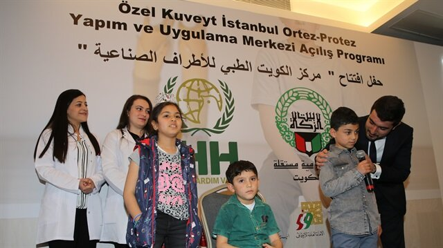 مركز لتركيب الأطراف الصناعية بإسطنبول لخدمة السوريين المتضررين من الحرب