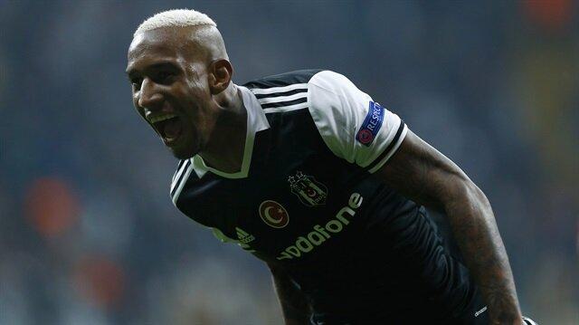 Beşiktaş'ın Brezilyalı yıldızı Talisca kendisinin ve takımının 2. golünü attı.
