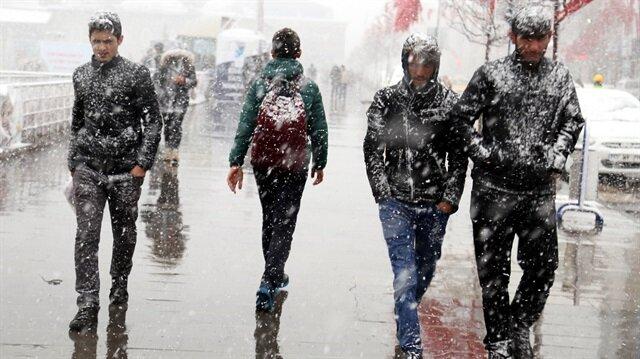 Meteoroloji, 23 Nisan'da kar ve fırtına beklendiğini duyurdu.