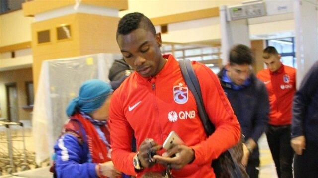 Spor Toto Süper Lig'in 28. haftasında deplasmanda Antalyaspor ile karşılaşacak Trabzonspor, Antalya'ya gitti.