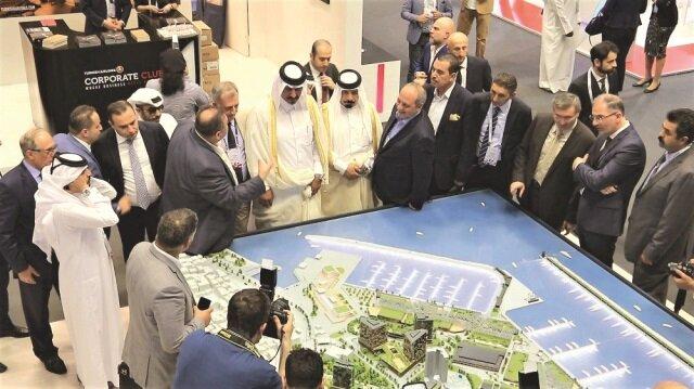 Teşvik paketini de Katarlı yatırımcıya anlattılar.