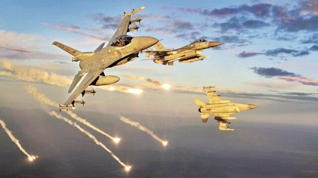 PKK'ya hava darbesi