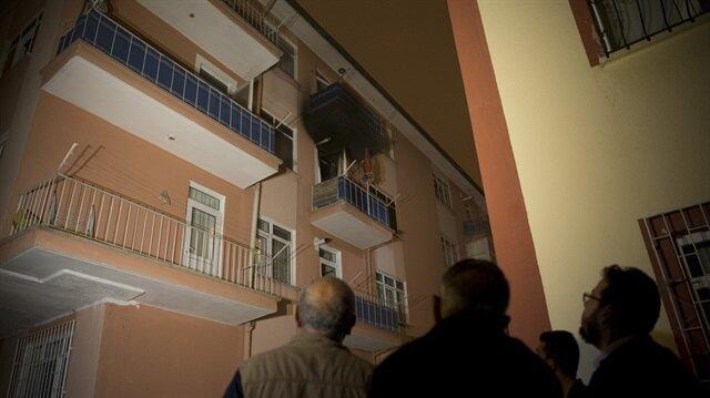 Ankara Keçiören'de ev yangını