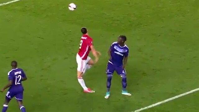Ibrahimovic'in korkutan görüntüsü