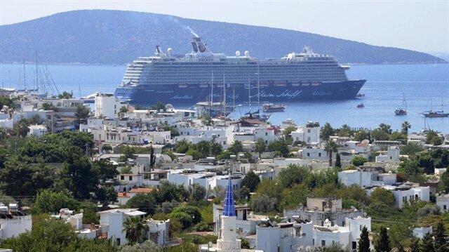 موغلا التركية.. قبلة السفن السياحية العالمية