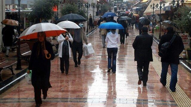 Yağışların yer yer çok şiddetli olması bekleniyor.