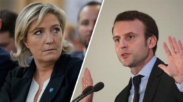 Fransa'da hassas dengeler: Le Pen mi, Macron mu?