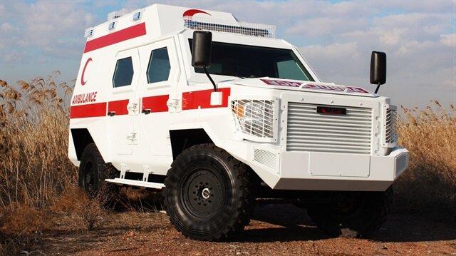 Zırhlı ambulanslar görücüye çıkıyor