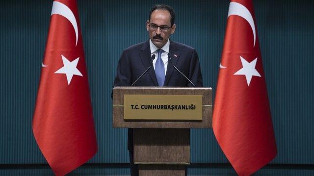 قالن: ننتظر من أوروبا احترام نتائج الاستفتاء بتركيا