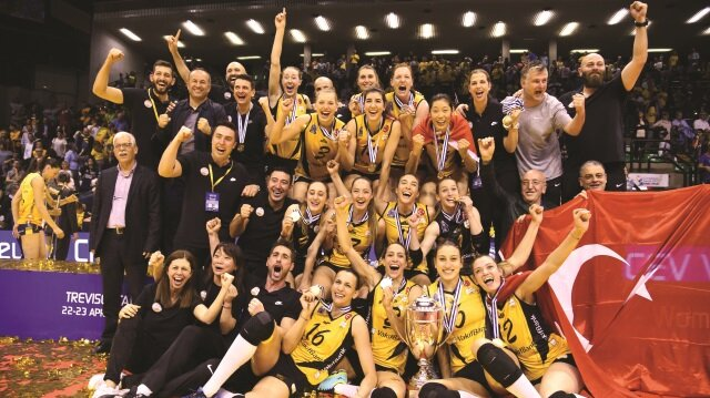 Vakıfbank Avrupa Şampiyonu