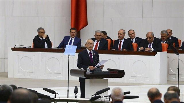 نتائج الاستفتاء تتصدّر كلمات المعارضة التركية في البرلمان