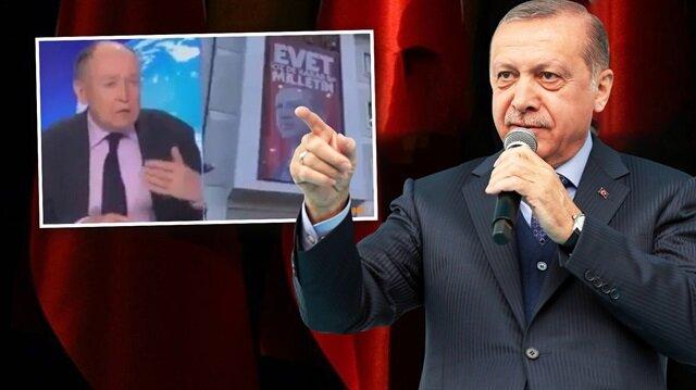 Erdoğan'dan Fransız profesöre suç duyurusu