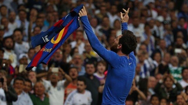 Bernabeu'dan <br>'Messi' geçti!