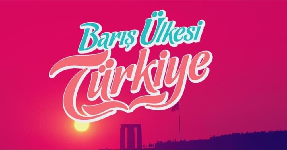 Organizasyonun teması: Barış Ülkesi Türkiye