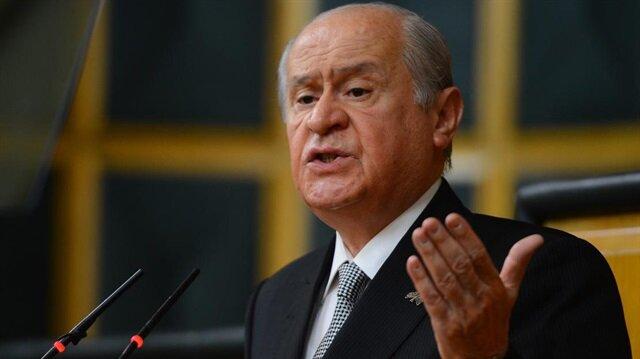MHP Lideri Bahçeli'den AKPM'ye tepki