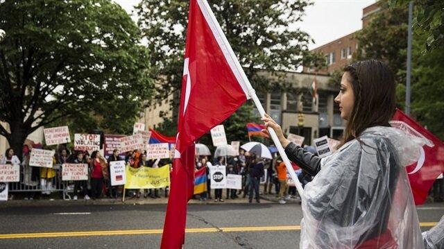 مظاهرتان متقابلتان للأرمن والأتراك بواشنطن