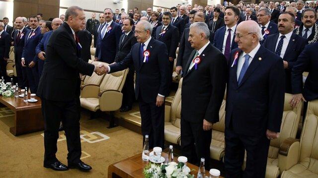 Referandum sonrası liderlerin ilk buluşması