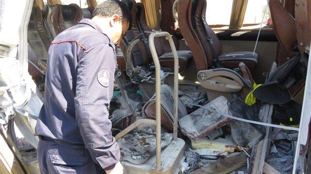 İstanbul'da öğrenci servisinde patlama: 7 yaralı