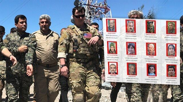 ABD soluğu TSK'nın vurduğu YPG kampında aldı